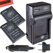 BM Premium 2 Pack of EN-EL23 Batteries and Battery Charger for Nikon Coolpix B700 P900 P600 P610 S810c Digital Camera