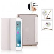 Premium Apple iPad Mini 4 - Smart Cover Hoes Case - met Flexibele Achterkant – Wit / White