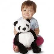 Детска плюшена играчка - Панда - 17606 - Melissa and Doug, 000772176064