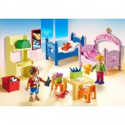 Dollhouse - Kinderkamer met stapelbed
