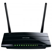 Router Wireless TP-Link TL-WDR3500, 300 + 300 Mbps, DualBand, 1 x USB, Antene detasabile