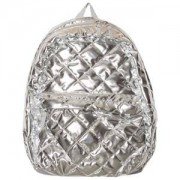 Lands End Silver Quilted Silver Backpack Ryggsäckar