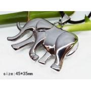 Медальон Слон изработен от медицинска стомана 316L (DXP8543)