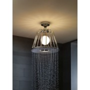 Para dus prindere pe plafon, iluminata Hansgrohe Axor LampShower