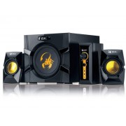 "BOXE 2.1 GENIUS .""SW-G2.1 3000"", RMS: 15Wx2 + 40Wx1, yellow & black, control box ""31731016100"" (include timbru verde 1 leu)"