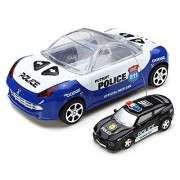 High Speed Mini Remote Control Drift Police Car