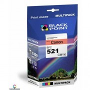 BlackPoint [BPC521CMYK] Multipack Black Point (Canon CLI-521) CMYK