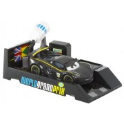 "Disney Cars Mini Car / New Lewis Hamilton LEWIS HAMILTON diorama start with launch pad! (With oil can) [] Cars 2 movie ""Cars 2"" public celebration! I appear soon! (japan import)"