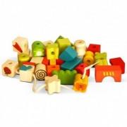 Cuburi lemn cu sfoara Garibel