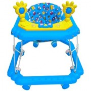 Oh Baby Baby Square Shape Pilastic Boby Blue Color Music With Light Walker For Your Kids SE-W-60