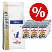 4 kg Royal Canin + 24 x 85 g Royal Canin în sos - Sensible 33 + Digest Sensitive în sos