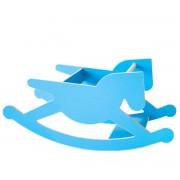 Kaether & Weise - doppel_hoppel Schaukelpferd, blau