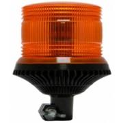 Girofar LED Galben cu lentile exterioare Fresnel si prindere Din Pole