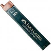 Mine creion mecanic hi-polymer 0,5mm, 12 buc/set, FABER-CASTELL
