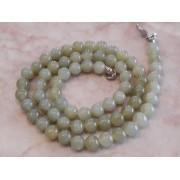 Jade 6 mm-es golyós féldrágakő lánc *