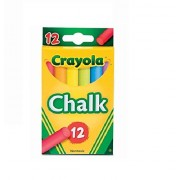 Chalk, Assorted Colors, 12 Sticks/Box by Constructive Playthings
