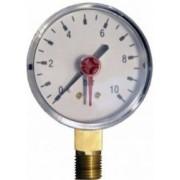 SIT manométer alsó csatlakozással 40mm -1bar
