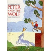 Peter and the Wolf: Children's Book with Easy Piano Pieces by S.S. Prokof'ev