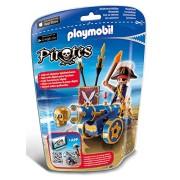 Playmobil - 6164 - Corsaire avec canon bleu