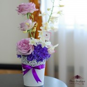 Aranjament floral Purple Haze AF015