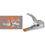 Rapid Blockheftgerät Supreme DUAX, silber/orange (21698301)