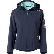 CMP Softshelljacke Regular Fit nachtblau Damen Gr. 42