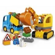 Lastbil och grävmaskin (Lego 10812 Town)