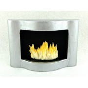 Melody Jane Dolls Houses House Miniature Modern Resin Wall Mounted Flame Fire In Fireplace 1: 12