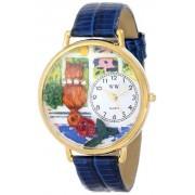 Whimsical Watches - G-0120001 - Montre Mixte - Quartz - Analogique - Bracelet Cuir Multicolore