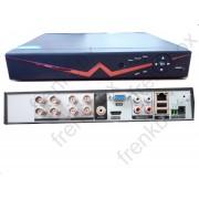 DVR 8 canali ibrido AHD 750p 1080p icloud HDMI Videosorveglianza su smartphone