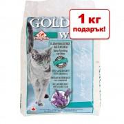 13 + 1 кг подарък!14 кг Golden Whitе камъчета за тоалетна - 14 кг