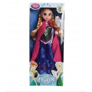 Ysf® 29cm Frozen Anna Poupée Plastique 6 Joint Anna Barbie+ Olaf Jouet Cadeau Pour Enfants