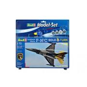 "Revell - Maqueta modelo set F-16 C ""Solo Türk"", escala 1:72 (64844)"