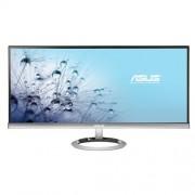 "Monitor ASUS MX299Q, 29""W, LED, 2560x1080, 80M:1, 2ms, 300cd, DVI-D, DP, HDMI, repro, strieborno-čierny"