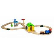 Character set rail car wash with a table of 6247 8 PLANTOYS (japan import)