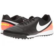 Nike Tiempo Genio II Leather TF BlackWhiteHyper OrangeVolt