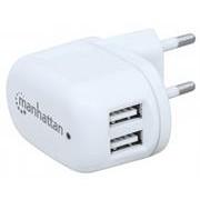 Manhattan PopCharge Home - Europlug C5 USB Wall