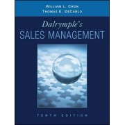 Sales Management Concepts and Cases 10E by William L. Cron