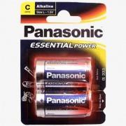 Blister de 2 Pilas Alcalinas Panasonic L R14