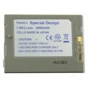 Power3000 PL118S.864 - acumulator tip BN-V114U/BN-V114S pentru camere video JVC, 2400mAh