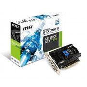 MSI N750Ti-2GD5/OC Carte Graphique Nvidia GeForce GTX750 Ti 1059 MHz 2048 Mo PCI-Express