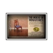 House Of Miniatures Queen Anne Side Chairs (2 Chairs) #40082 Sealed