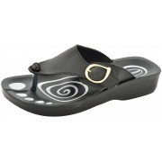 Aerosoft Women black Sandals