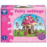 Fairy Cottage Shaped Floor Puzzle