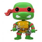 FUNKO Teenage Mutant Ninja Turtles - Raphael Collectible figure Teenage Mutant Ninja Turtles - action figures & collectibles (Collectible figure, Dibujos animados, Teenage Mutant Ninja Turtles, Multi, Vinilo, Caja) - Fig-head raphael (10cm)