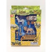 Safari Wild Animals Play Set (characters may vary)