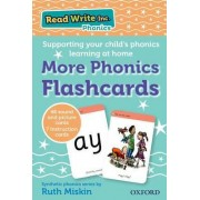 Read Write Inc. Phonics: More Phonics Flashcards by Ruth Miskin