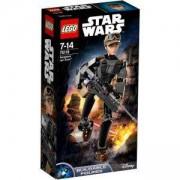 Сглобяема фигура Лего Стар Уорс - Сержант Jyn Erso - LEGO Star Wars, 75119
