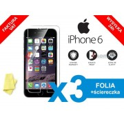 3x Folia ochronna na ekran do iPhone 6