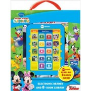 Mickey Mouse Clubhouse Electronic Reader and 8-Book Library by Publications International